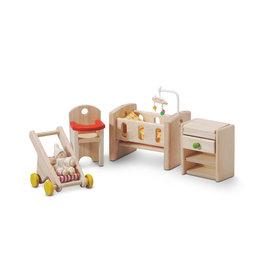 Plan Toys Ensemble maison de poupée - Chambre de bébé