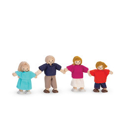 Plan Toys Wooden Doll Family