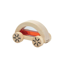 Plan Toys Wooden Car - Wautomobile Red