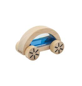 Plan Toys Voiture en bois - Wautomobile bleue
