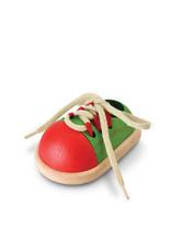 Plan Toys Chaussure à nouer en bois