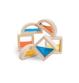 Plan Toys Blocks à eau pour empiler en bois