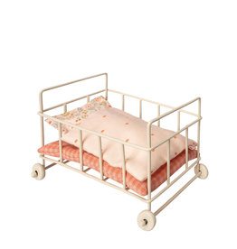 Maileg Metal Baby Cot - Micro