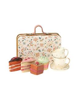 Maileg Ensemble de petits gâteaux dans une valise