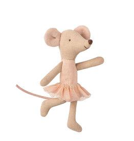 Maileg Petite soeur souris ballerine rose