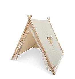 Kinderfeets Indoor/Outdoor Tent - Natural Cotton