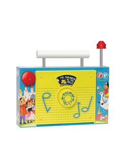 Fisher Price Vintage Fisher Price Classic Play TV Radio