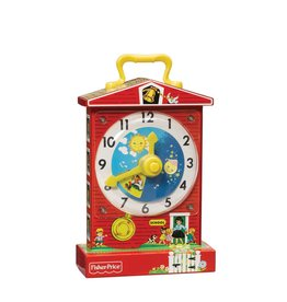 Fisher Price Vintage Horloge d'enseignement musical vintage Fisher Price