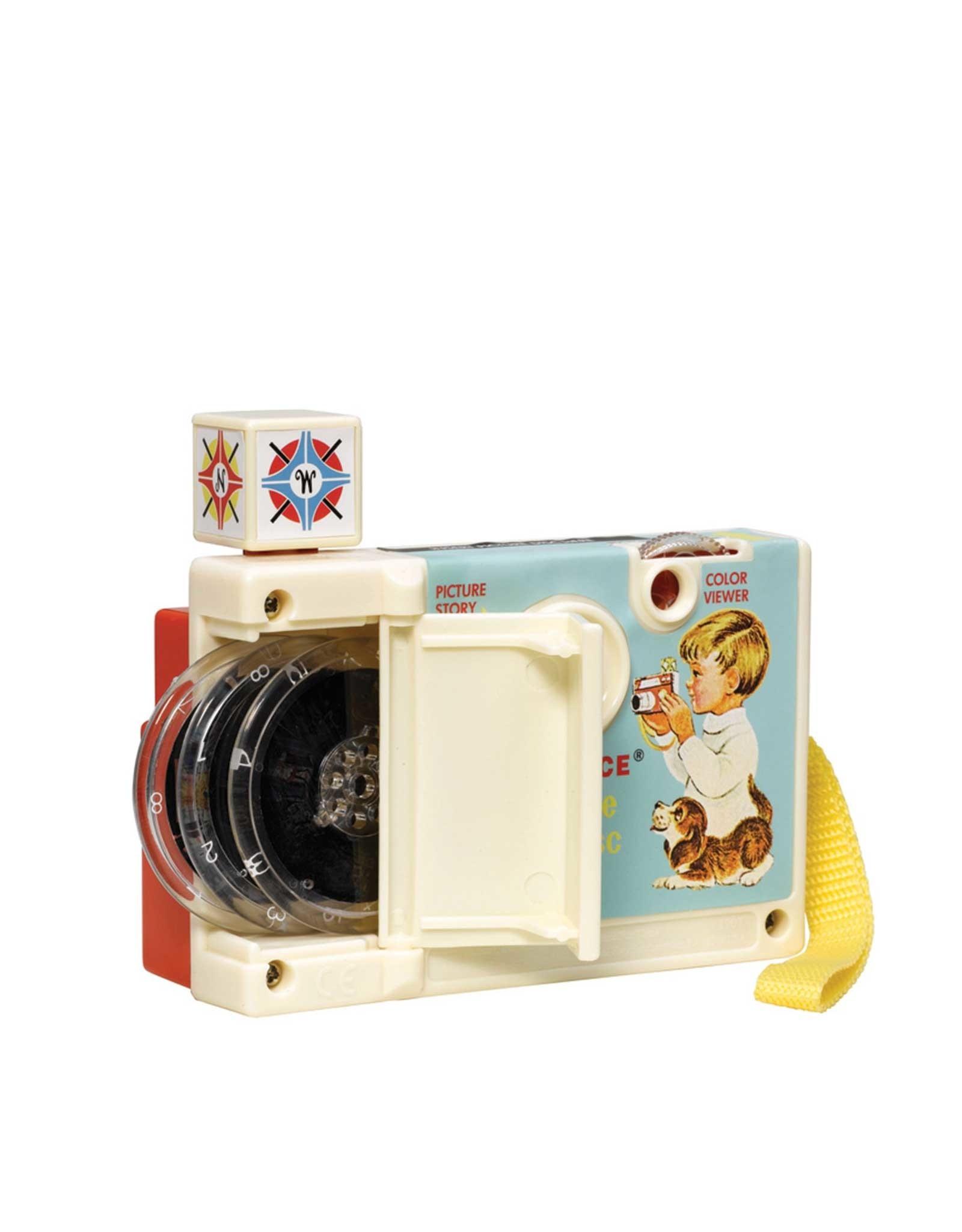 Fisher Price Vintage Caméra de disque à images vintage Fisher Price