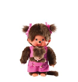 Monchhichi Monchhichi Mother Care Plush Toy - Pink