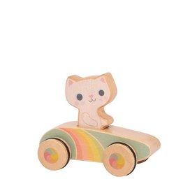 Tiger Tribe Rainbow Roller - Cruisin' Kitty