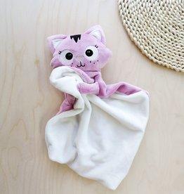 Veille sur toi Baby blankie - Charlotte the cat
