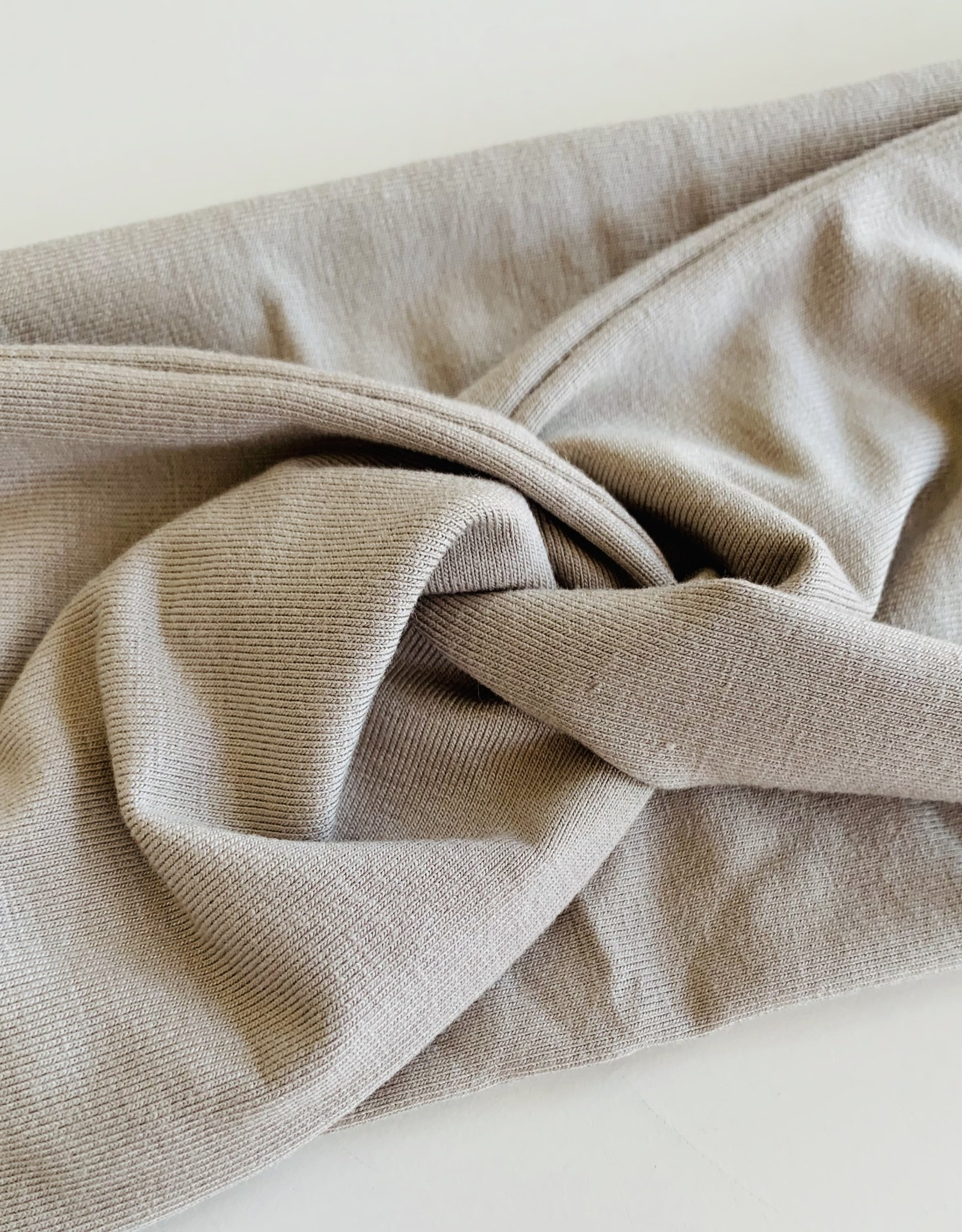 Béguin Crossed Headband 2 in 1 - Taupe Grey 2-5 Years Old