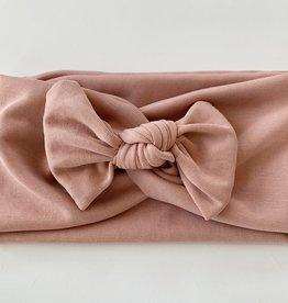 Béguin Bandeau croisé 2 en 1 - Rose blush 0-24 mois