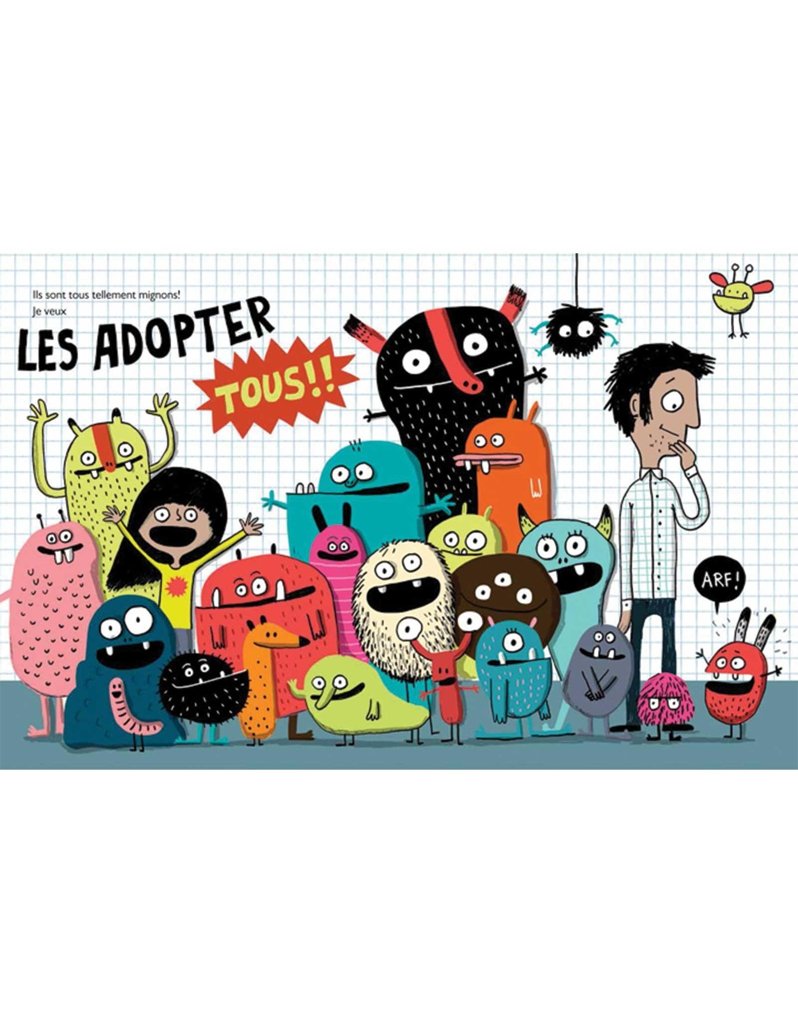 Livre Je veux un monstre (FRENCH)
