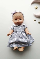Paola Reina Dress for Paola Reina doll with headband and underwear - Lilac