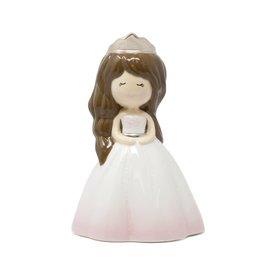 Child to Cherish Tirelire - Princesse Charlotte cheveux brun