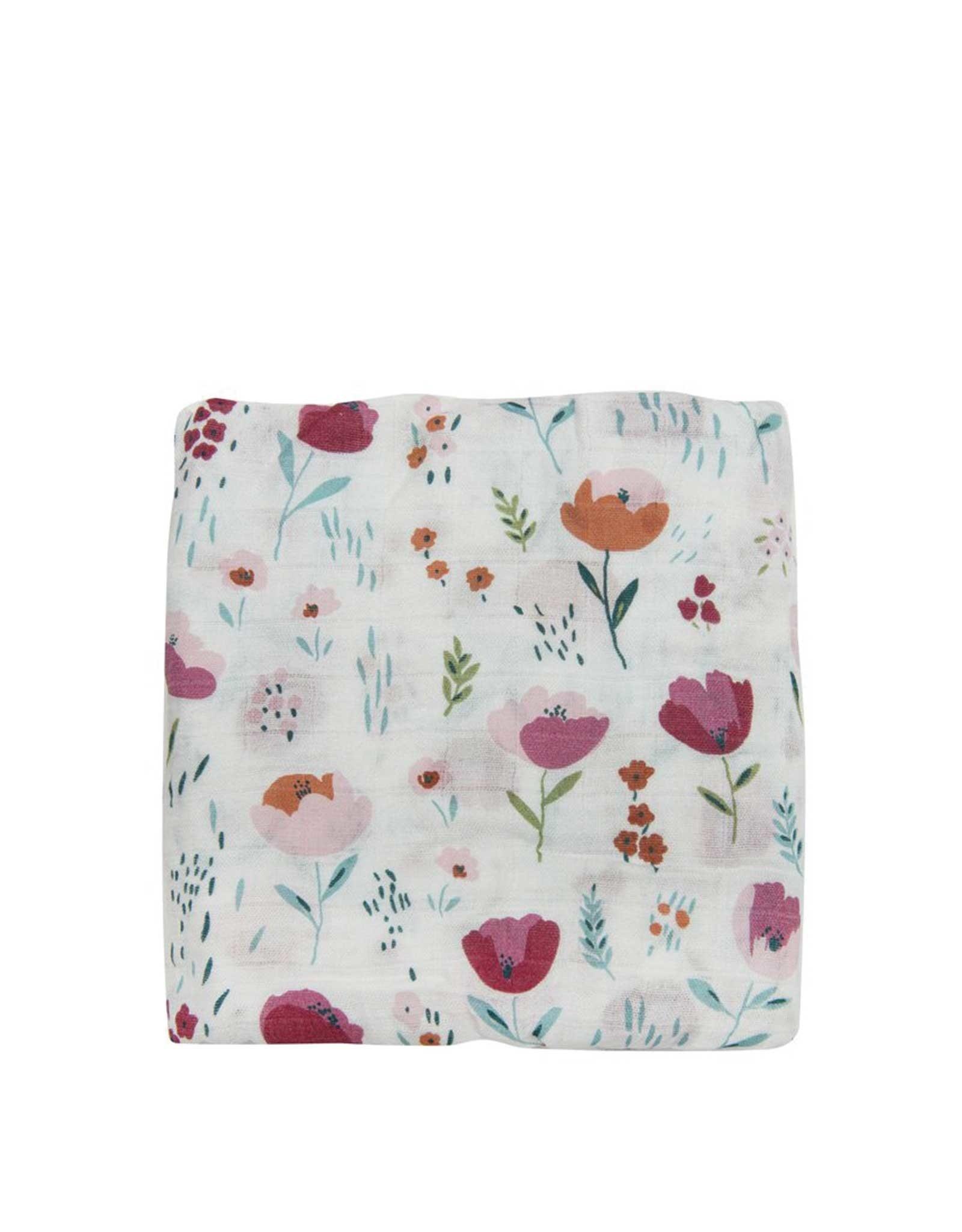Loulou Lollipop Mousseline - Floraison de roses