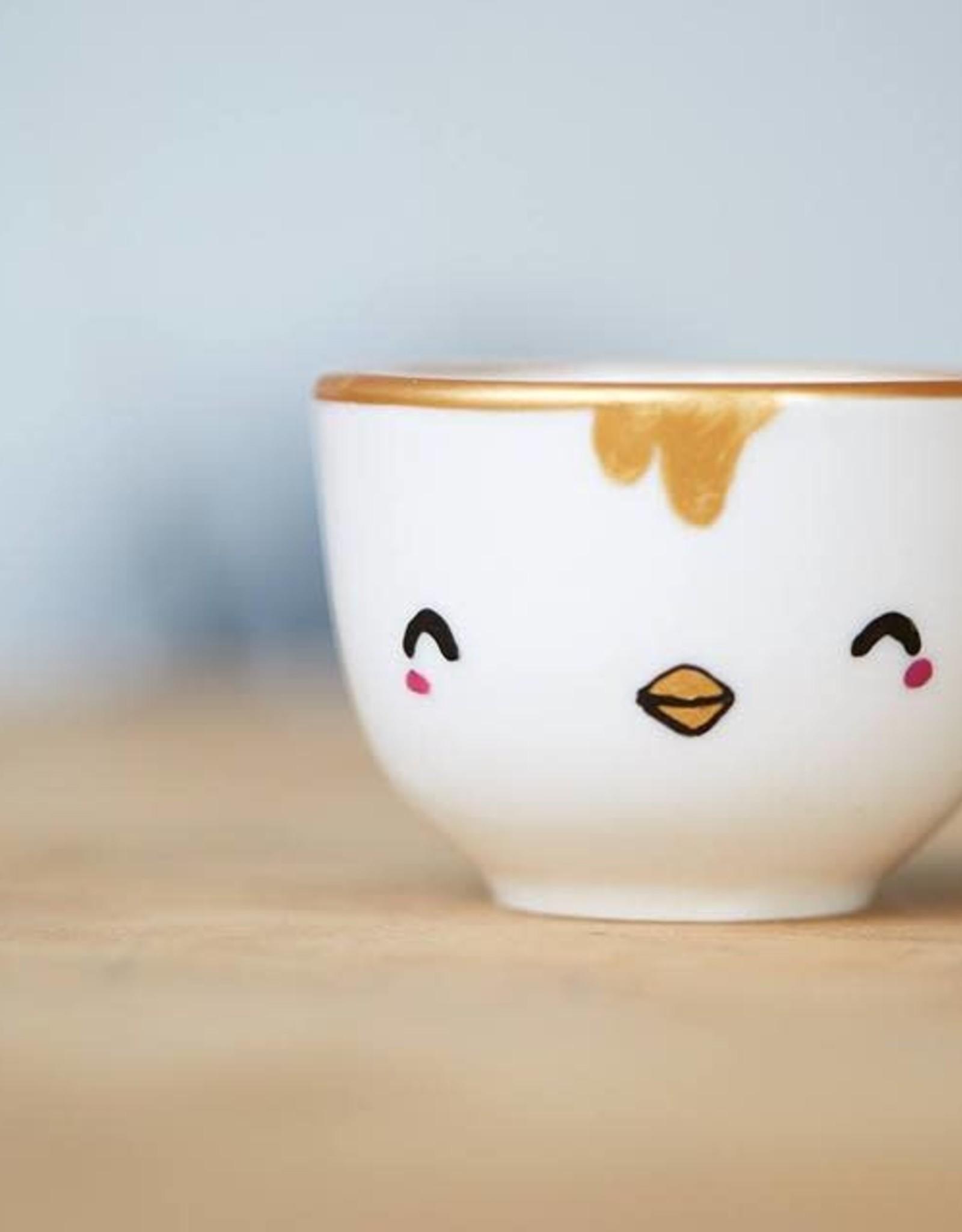 Serif & Glyph Petite tasse - TIPOULET poulet