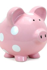 Child to Cherish Bank - Large Piggy Pink