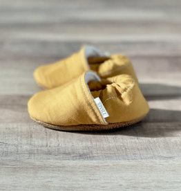 Trendy Baby Mocc Shop Mustard Yellow Moccasins