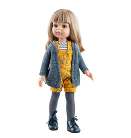 Paola Reina Las Amigas Doll - Carla With Yellow Jumper