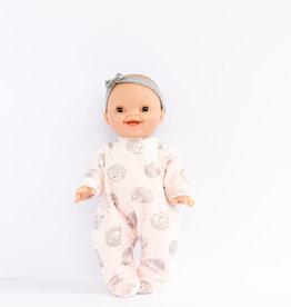 Paola Reina Vêtements de poupée - Pyjama hérisson rose et bandeau