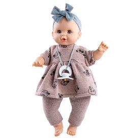 Paola Reina Poupée Bébé Sonia en pyjama