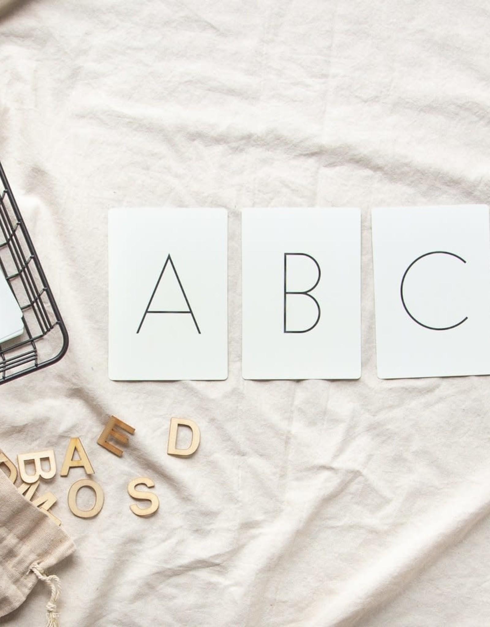 Pastel Cartes d'apprentissage - Lettres majuscules
