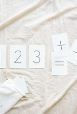 Pastel Cartes d'apprentissage - Les chiffres