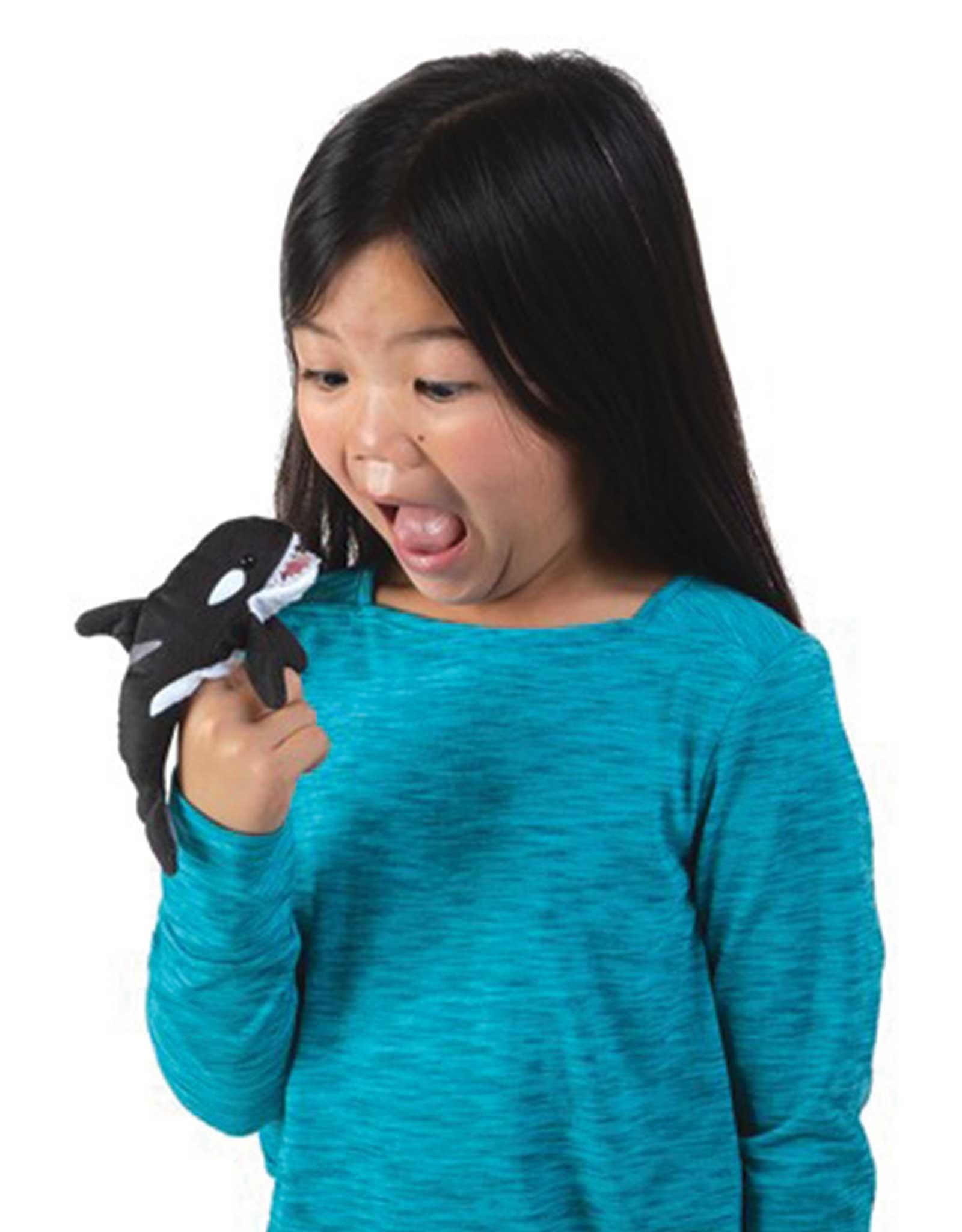 Folkmanis Mini Orca - Finger Puppet