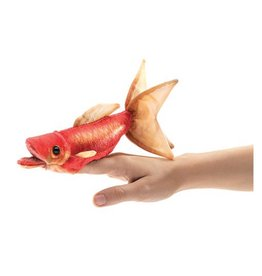 Folkmanis Mini Goldfish - Finger Puppet