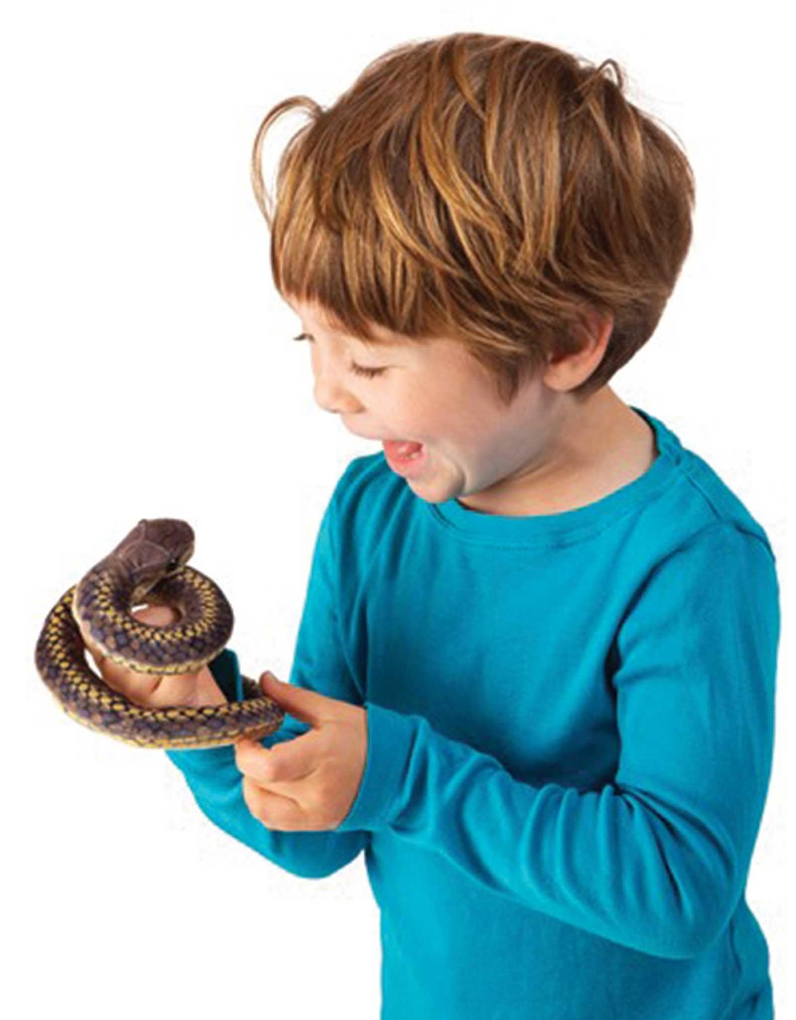 Folkmanis Marionnette à doigt - Serpent