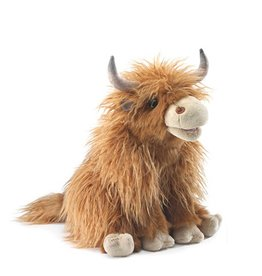 Folkmanis Highland Cow - Puppet