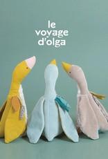 Moulin Roty Voyage d'Olga - Peluche Plumette l'oie bleue