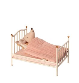Maileg Mouse Vintage Bed - Off White