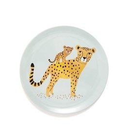 Petit Monkey Assiette en mélamine - Leopard