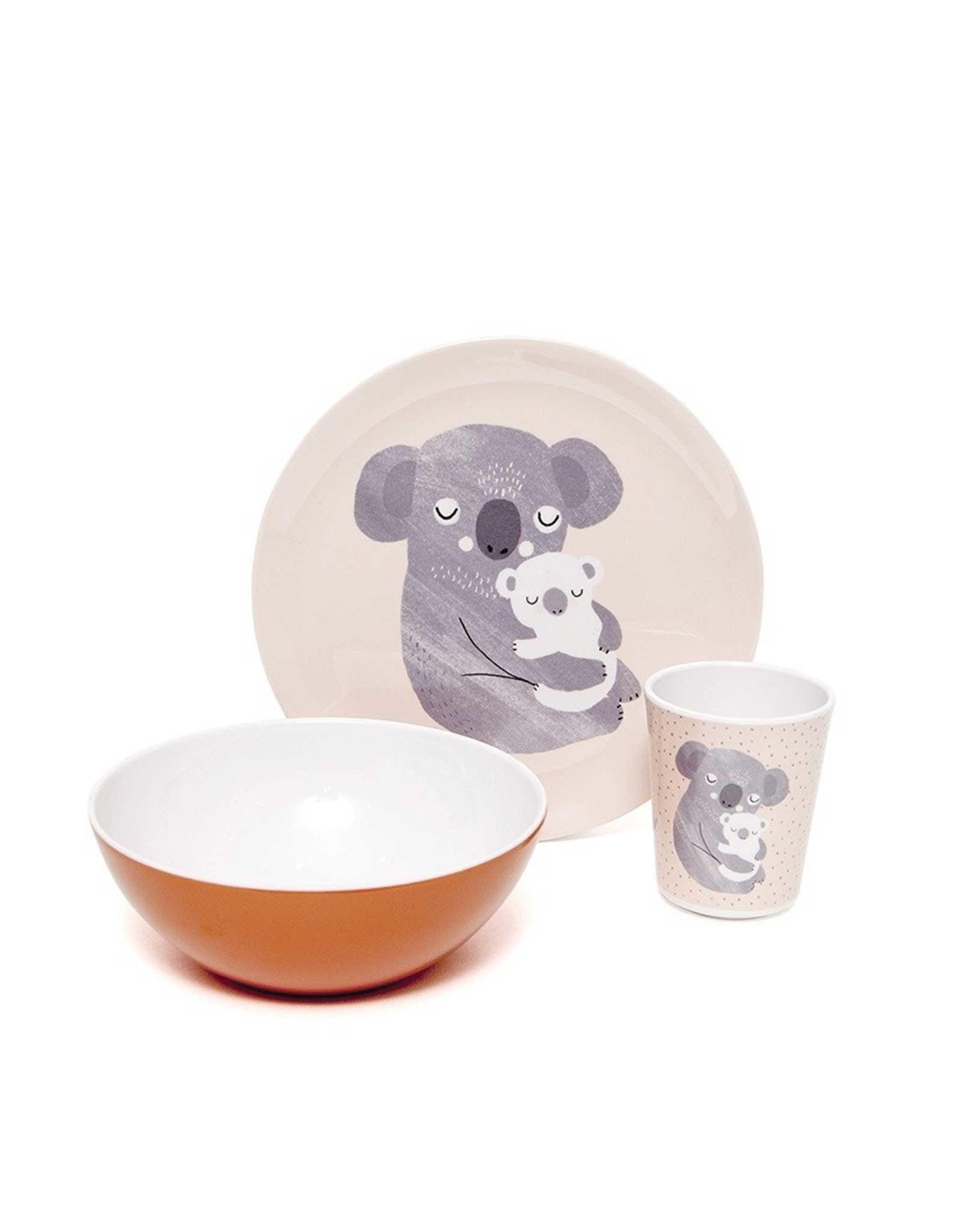 Petit Monkey Verre en mélamine - Koala