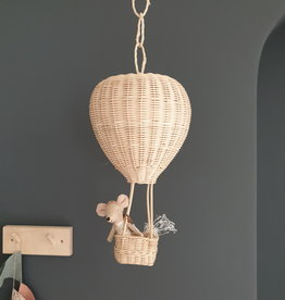 Coconeh Wicker Hot Air Hanging Balloon