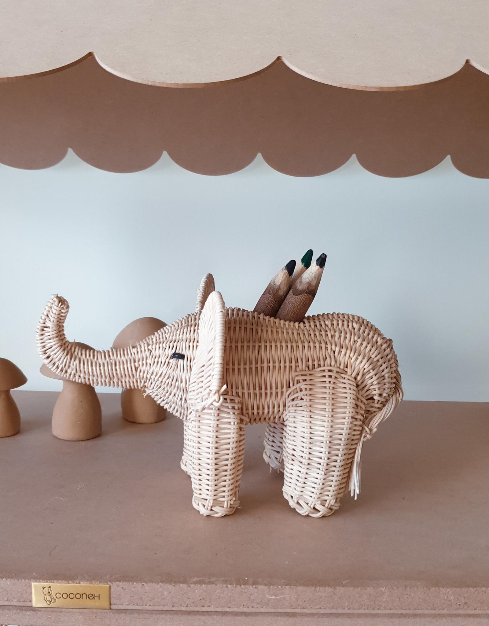 Coconeh Porte-crayon Nestor l'éléphant