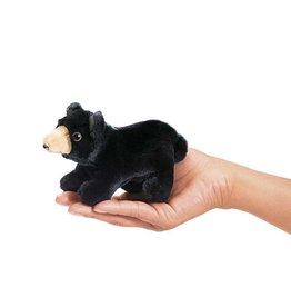 Folkmanis Finger Puppet - Mini Black Bear