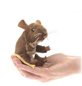Folkmanis Finger Puppet - Mini Mouse Field