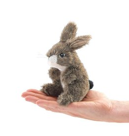 Folkmanis Finger Puppet - Mini Jack Rabbit