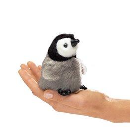 Folkmanis Finger Puppet - Mini Baby Emperor Penguin