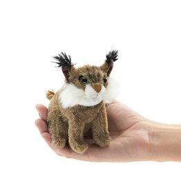 Folkmanis Finger Puppet - Mini Bobcat