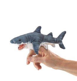 Folkmanis Finger Puppet - Mini Shark