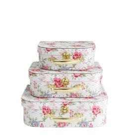 Alimrose Ensemble de valises pour enfant - Rose cottage