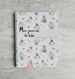Moments ancrés My Baby Diary - Forest Animals (FRENCH)