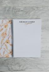 Moments ancrés Mon journal de bébé - Fleurs corail