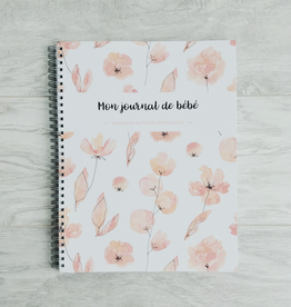 Moments ancrés My Baby Diary - Coral Flowers (FRENCH)
